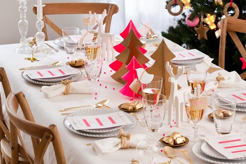 Сервировка новогоднего стола 2016 своими руками фото