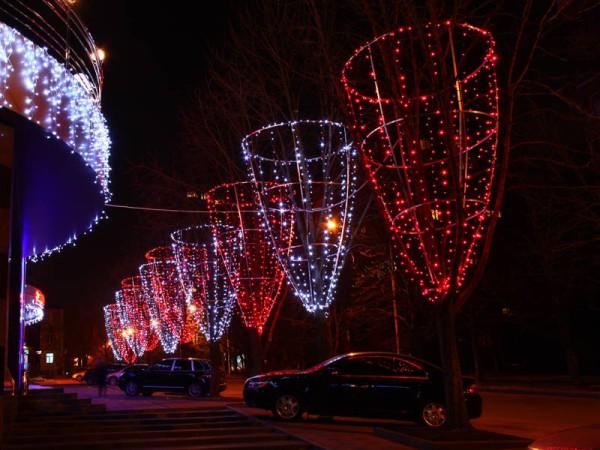 Украшение для улиц на новый год