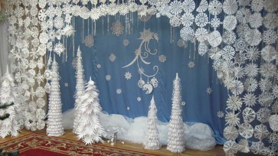 Декорация к новому году своими руками фото