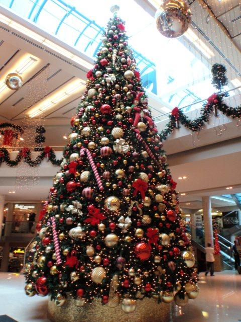 Новогодние украшения на большую елку
