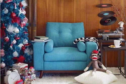 4 лучшие идеи новогоднего декора в ретро-стиле