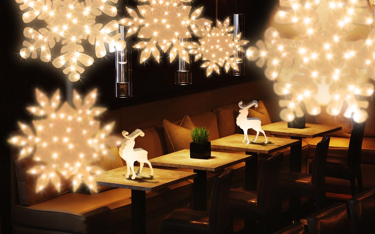 Наружное освещение ресторанов и кафе – привлекаем клиентов